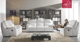 Móveis online | Sofá 3 lugares com relax