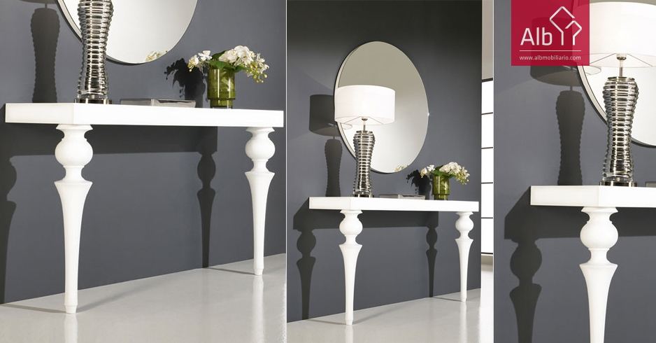 Contemporary Hall Furniture Console Table Hall Tables