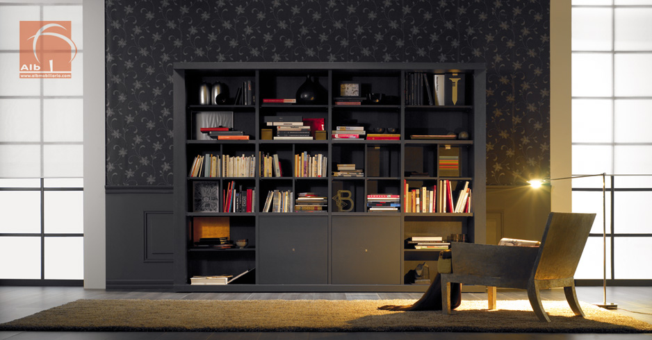 Muebles bibliotecas modernas cheap muebles bibliotecas - Muebles bibliotecas modernas ...