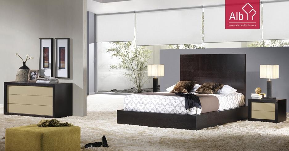 design decorao mobilirio ALB Mobilirio e Decorao  ~ Quarto Casal Wengue