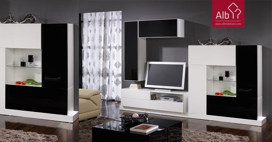 Modernos muebles para el televisor muebles - Muebles para el comedor ...