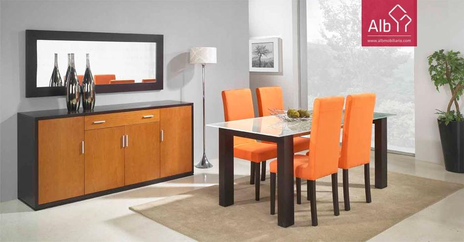 Muebles diseo muebles comedor comedores comedor for Muebles aparadores modernos