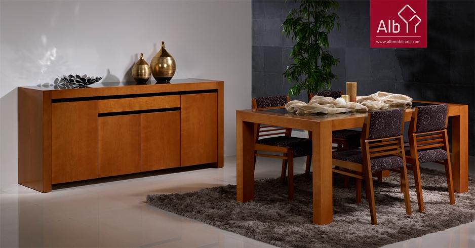 Mueble comedor moderno composicin saln tv alba comedor moderno muebles garcia sabate modular - Merkamueble villalba ...