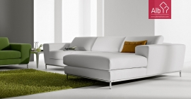 Sofa chaiselongue claro