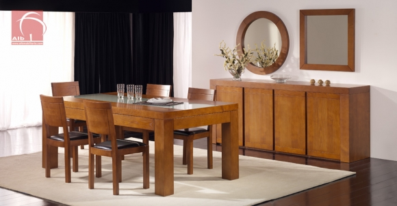 Moveis sala jantar faro alb mobilirio e decorao paos for Salas de madera modernas