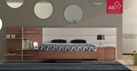 cama com estante albmobiliario