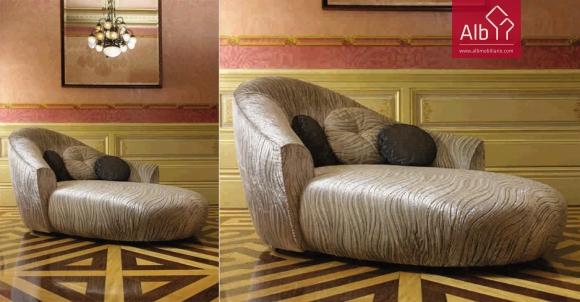 chaiselongue sofás tecido