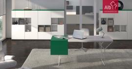 moveis de escritorio lacados modernos
