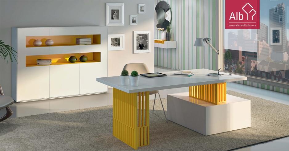 Moveis de escritorio modernos lacados alb mobili rio e for Mobiliario de escritorio fabricantes