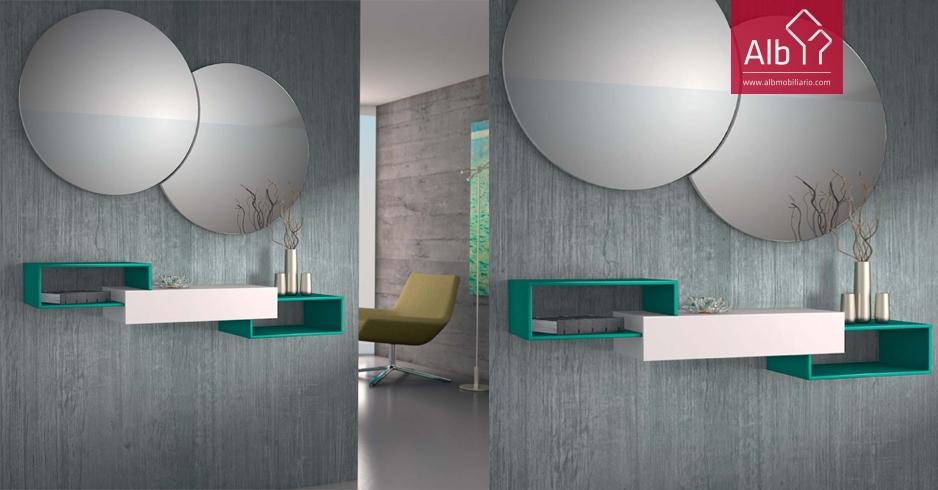 Muebles entrada modernos sevilla alb mobilirio e for Muebles de entrada modernos