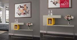 Recibidores taquillones consolas espejos alb mobili rio e decora o pa os de ferreira - Taquillones de entrada ...