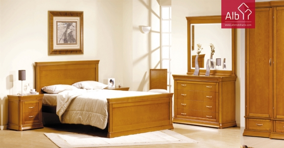 Quarto cl ssico cerejeira alb mobili rio e decora o for Mobilia quarto casal usada