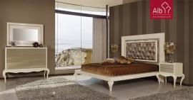 quarto de casal neoclassico lacado