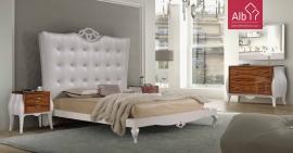 Quarto casal Branco | Mobiliário alta qualidade
