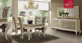 sala jantar neoclassica lacada