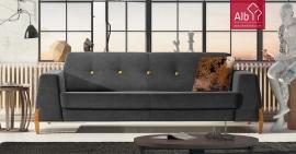 Sofá en tejido tela sofas coruna