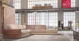 Corner sofa ideas | Fabric Corner Sofa vintage