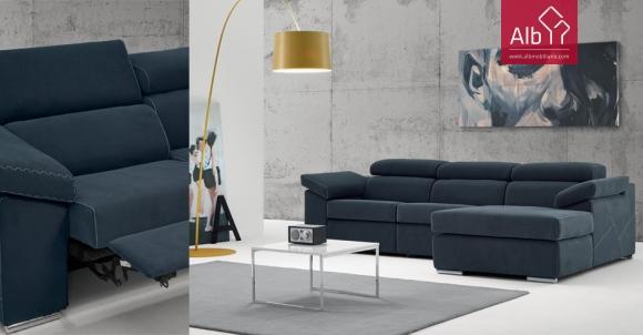 sof chaise longue com relax sof paris alb mobilirio e decorao paos de ferreira capital. Black Bedroom Furniture Sets. Home Design Ideas