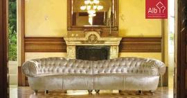 sofá dois módulos clássico