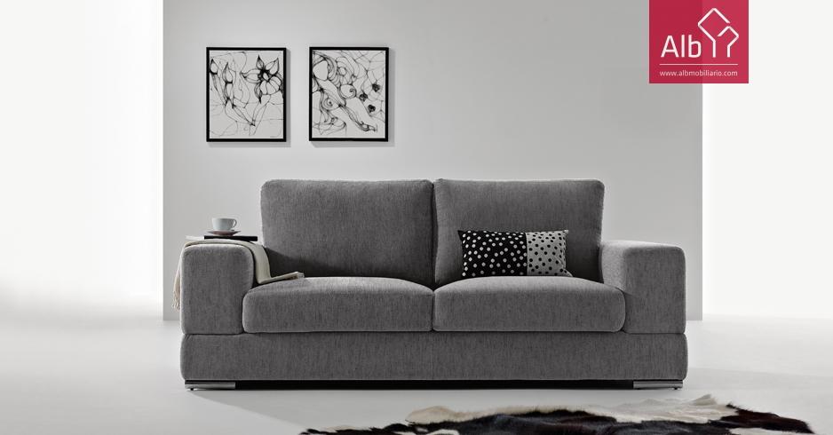 Sofa moderno tecido comprar online alb mobili rio e decora o pa os de ferreira capital do - Compra sofas online ...
