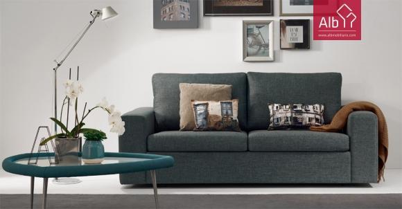 Sofa cama tecido sofas coimbra alb mobilirio e decorao paos de ferreira capital do mvel - Sofa camas modernos ...