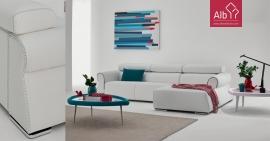 Footstool Sofa | Modern footstool sofa