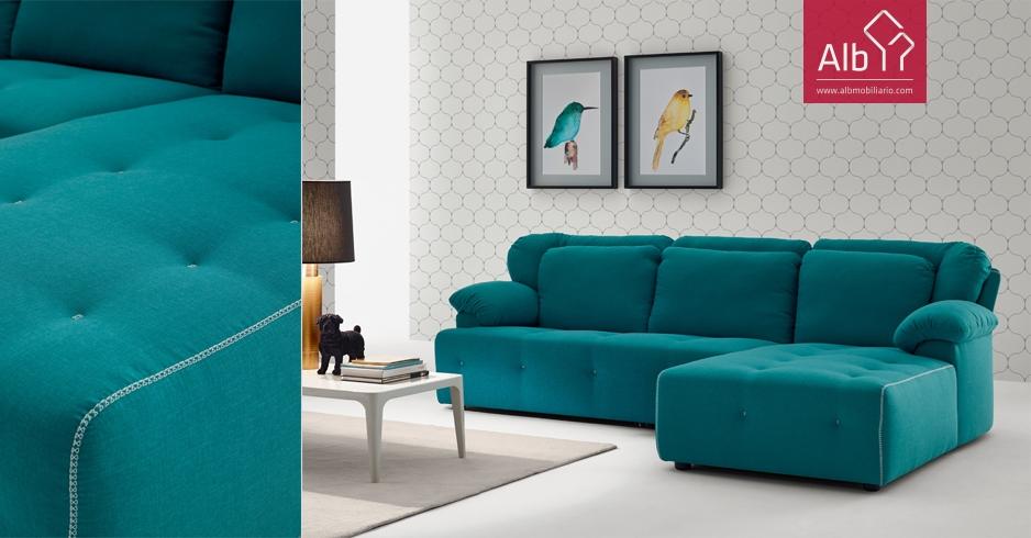 Sof chaise longue retro sof moderno sintra alb for Donde comprar sillones sofa cama