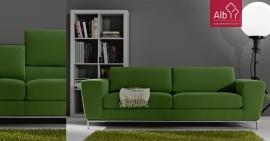 sofás modernos sofás tecido sofás pele