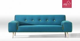 Sofá retro moderno | Sofas online | Sofas tecido | Sofas qualidade
