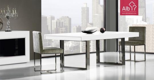 Fotos de decorao sala de jantar auto design tech - Mesas de sala modernas ...