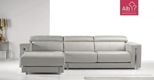sofá 3 lugares com chaiselongue em pele - ALB Mobiliário e Decoração on cushions sofa, pillow sofa, settee sofa, recliner sofa, ottoman sofa, fabric sofa, table sofa, bedroom sofa, glider sofa, beds sofa, couch sofa, mattress sofa, lounge sofa, chair sofa, storage sofa, bookcase sofa, futon sofa, art sofa, divan sofa, bench sofa,