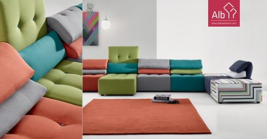 Sofa modular encostos reclinaveis sofas faro alb for Sofas modulares