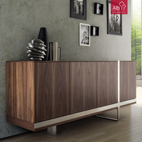 Mueble comedor con inox muebles contemporaneos tenerif alb mobili rio e decora o pa os de - Aparadores modernos para comedor ...