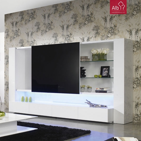 Muebles saln online marbella alb mobilirio e decorao for Mueble que esconde tv