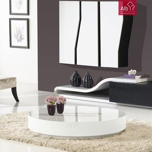 Estante moderna barata alb mobili rio e decora o for Mesas de centro para sala modernas