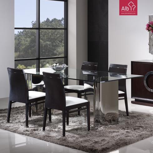 Moveis salas mesa para sala mesa de jantar moderna - Mesas de sala modernas ...