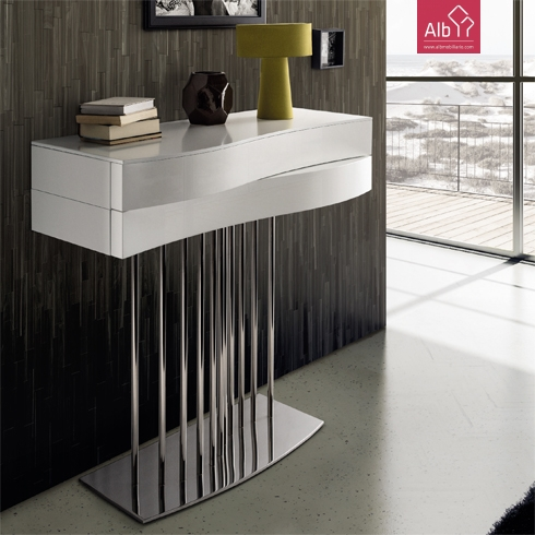 moveis de entrada com pe inox alb mobili rio e decora o pa os de ferreira capital do m vel. Black Bedroom Furniture Sets. Home Design Ideas