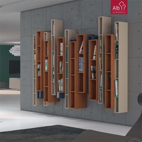 Secret ria modular em vidro mobili rio de escrit rio for Estantes de oficina