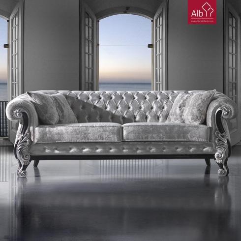 Classico melhor preo alb mobilirio e decorao paos de - Sofa cama chesterfield ...
