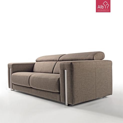 Sof 3 lugares em tecido alb mobilirio e decorao paos - Medidas de sofas 3 2 ...